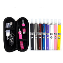 Electronic Cigarette eVod Starter Kit with MT3 Atomizer 650/900/1100mAh Evod Battery Zipper Case Vape Vaporizer Pen Kit eCigs