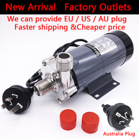HomeBrew Beer Pump MP 15R Food Grade 304 Stainless Steel Brewery Home Brew 220V Magnetic Drive