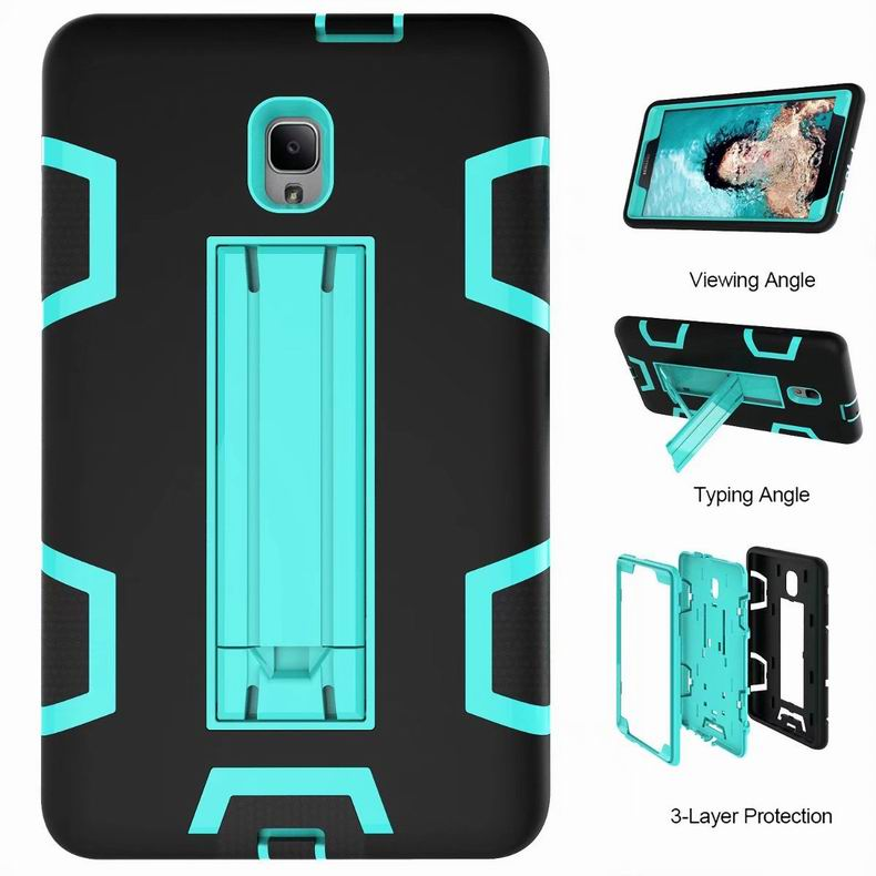 Fashion Armor Stand Case For Samsung Galaxy Tab A 10.5 T590 / 8.0 T387 (2018) / TAB A 8.0 T385/T380 / 10.1 S Pen P580 Hard Cover