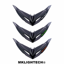 MKLIGHTECH For KAWASAKI VERSYS650 2015-2019 Motorcycle Front Fairing Aerodynamic Winglets ABS Plastic Cover Protection Guards