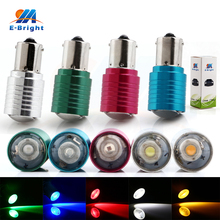 цена на 50PCS 1156 S25 BA15S 3W 270Lm Led Bulb White Red Blue Amber Green For DC 12V Car Parking Light Coner Lamp Tail Turn Signal Light