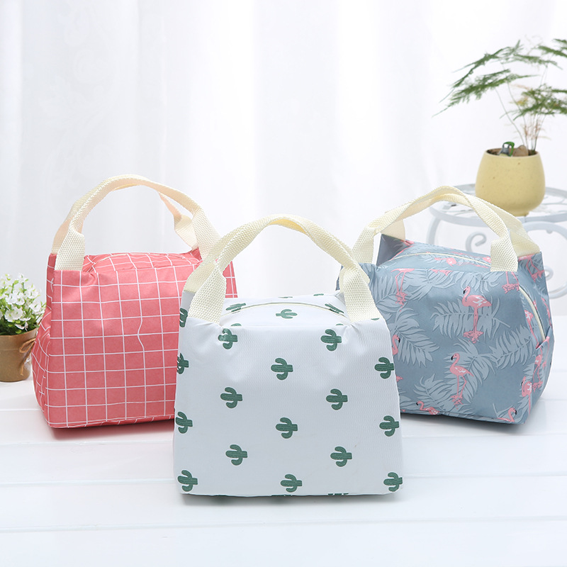 Large-Capacity Waterproof And Cold Pack New Aluminum Foil Insulation Bag Korean Portable Lunch Bag Wholesale Price