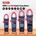 UNI-T Digital clamp meter ac dc Multimetro UT216 Serie 600A ture rms Gamma di Auto Pinze Tester con data hold retroilluminazione