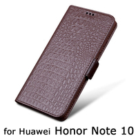 Handmade Cow Leather Phone Case For Huawei Honor Note 10 Cases Magntic Design Flip Wallet Case for Huawei Honor Note10 Skin Bag