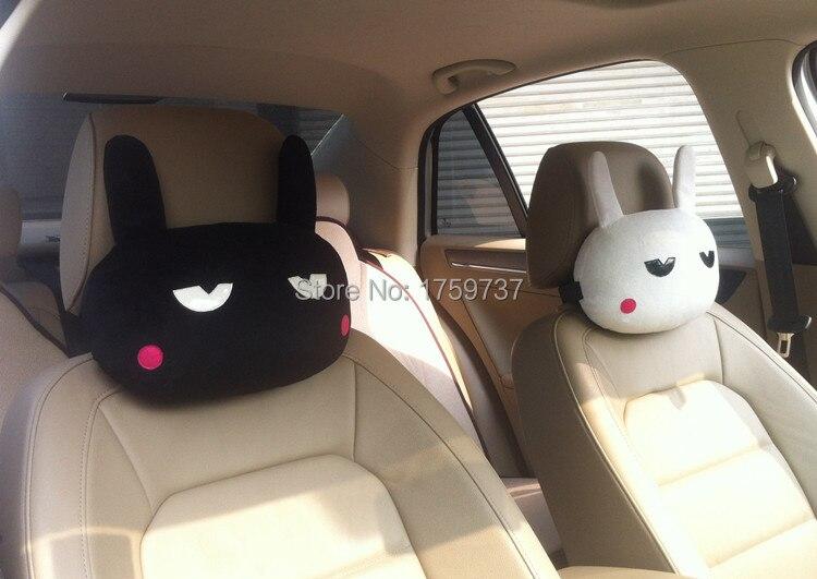 2015 Seat Covers Car Accessories Pillow Headrest Cartoon creative ...