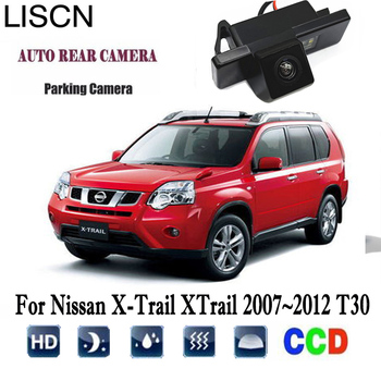 Rear View Camera For Nissan X-Trail XTrail 2007~2012 T30 backup Camera/CCD Night Vision/Reverse License Plate camera