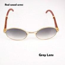 065983cc01ebe 2018 Retro Rodada Óculos De Sol dos homens Carter Óculos De Chifre de  Búfalo moldura De Vidro óculos de Sol para Homens Óculos D..