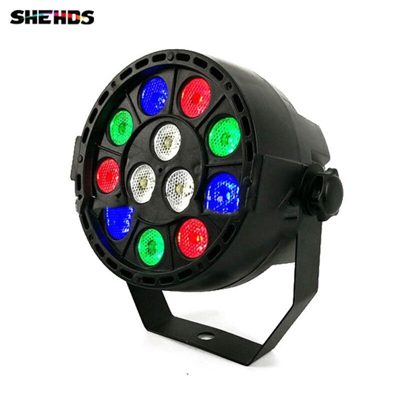 Светодиодный Par 12x3 Вт RGBW светодиодный свет этапа номинальной света с DMX512 для диско DJ Проектор машина Вечерние украшения SHEHDS освещения сцены ...