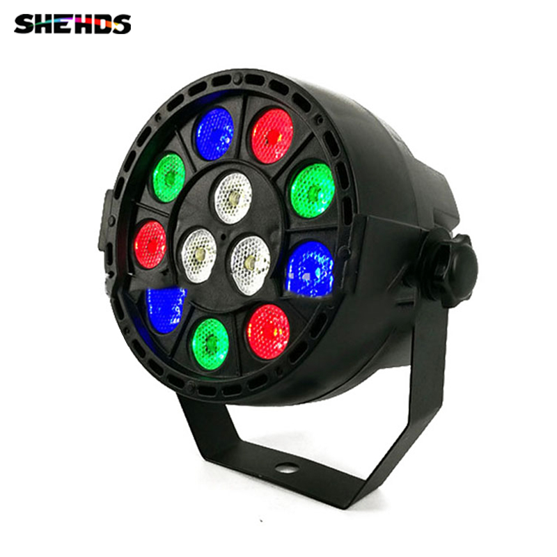 LED Par 12x3W RGBW LED Stage Light Par Light With DMX512 for disco DJ projector machine Party Decoration SHEHDS Stage Lighting ...