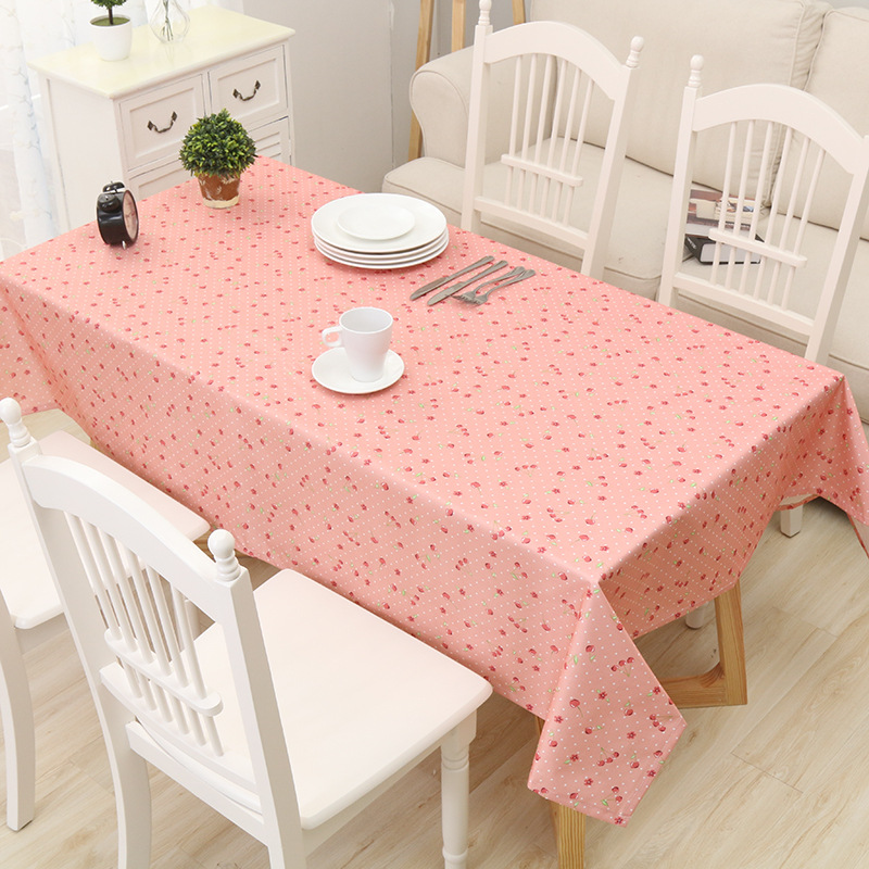 Pastoral Pvc Table Cloth for kitchen Oilproof Tablecloth rectangle ...