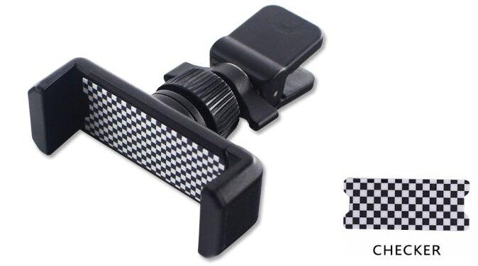 Универсальный держатель Gtinthebox для Mini Cooper, автомобильный держатель для телефона R50 R53 R55 R56 R60 R61 F54 F55 F56 F60 - Цвет: Розовый