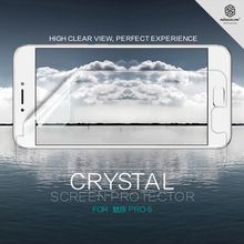 Nillkin For Meizu Pro 6 Super Clear Anti- fingerprint screen protector for meizu pro free shipping