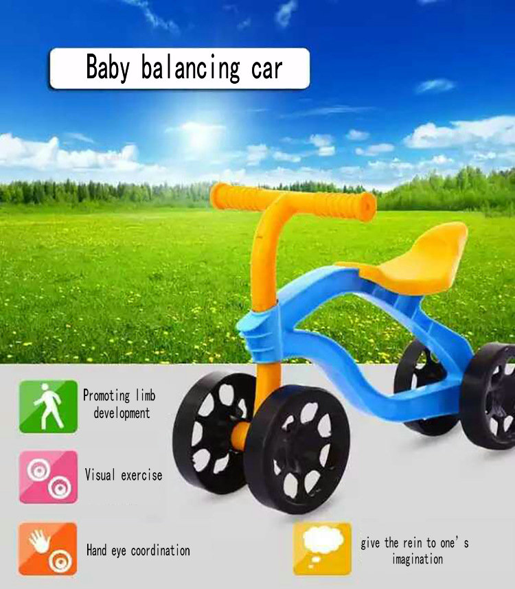 Voiture d'équilibre pour enfants, caboteur bébé, pas de vélo à pédales, premier vélo, mini vélo, d-bike