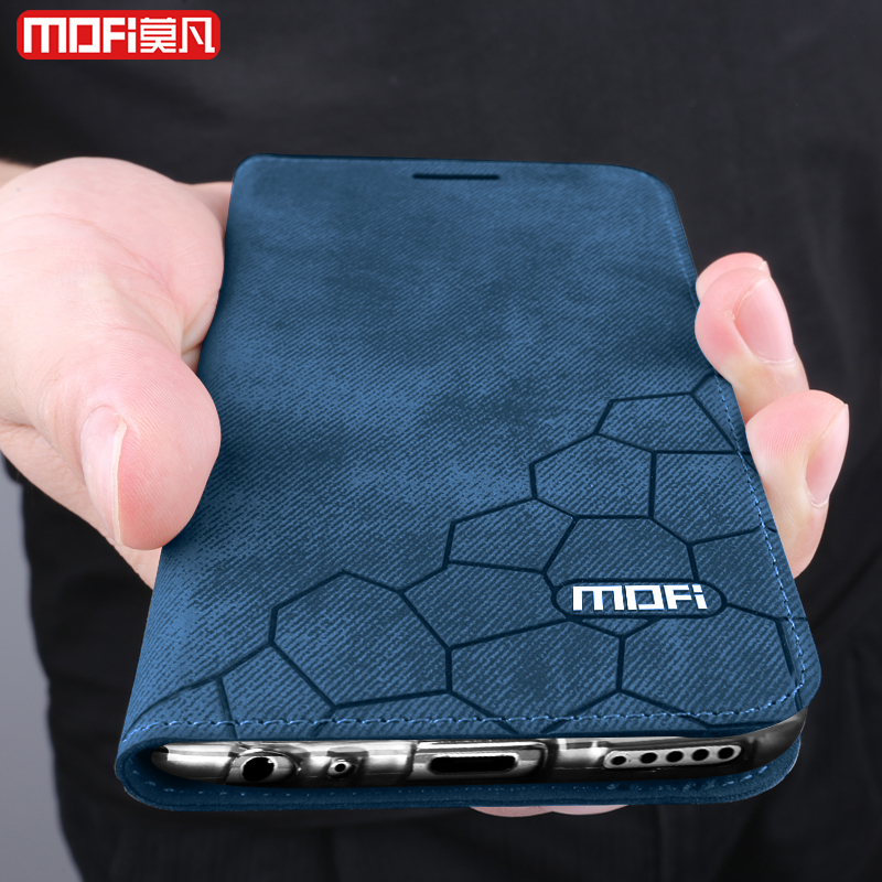 For Huawei mate 20 lite case flip leather for huawei mate 20 lite case cover Mofi for huawei mate20lite case 6.3