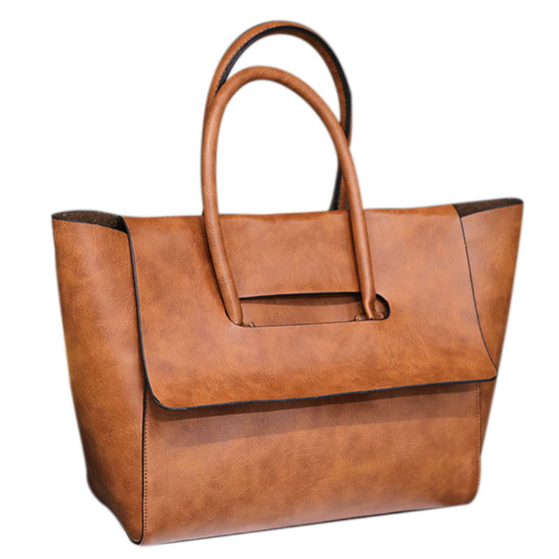 Tote Handbag Bag-Style Minimalist Portable Fashion Women Mia Ljl-Ladies Retro