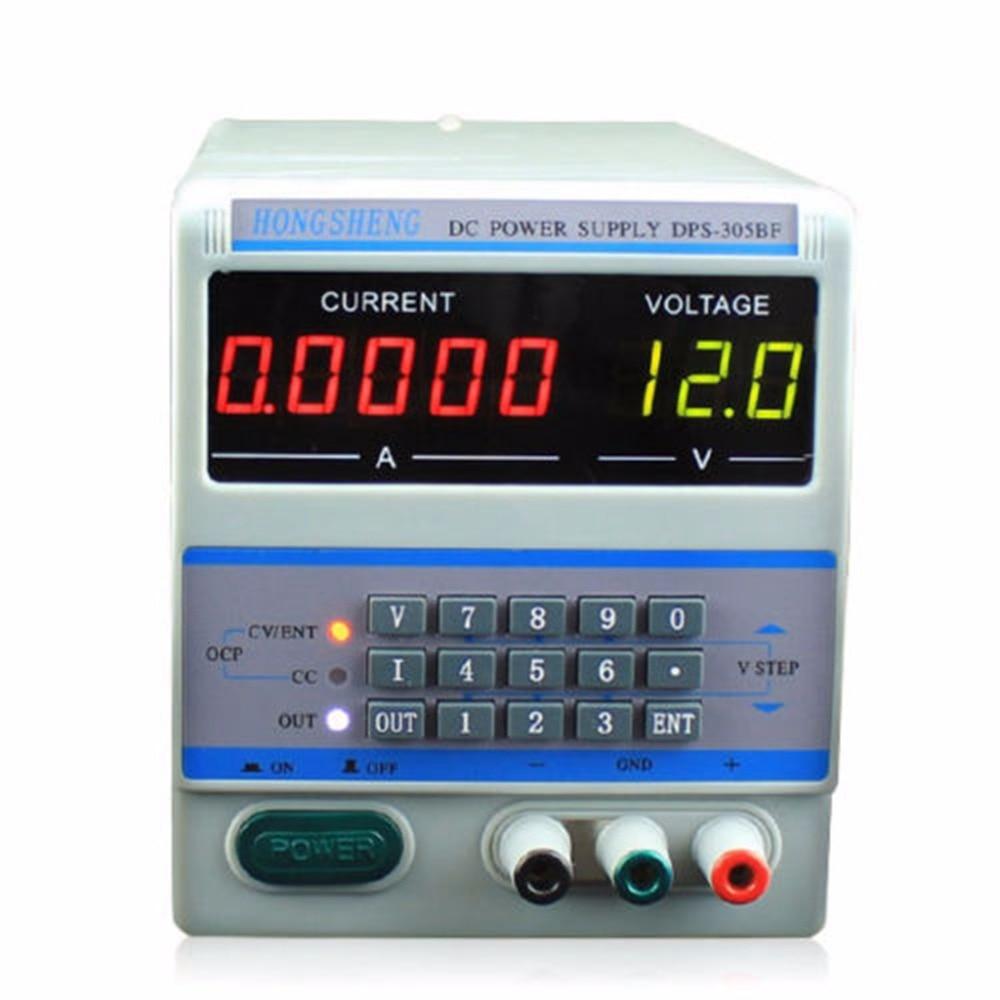 DPS-305BM 220 V/110 V 4 Ps affichage contrôle numérique 30 V 5A DC tension régulée alimentation pour réparation d'ordinateur portable