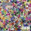 ВЫСОКОЕ качество 3 мм 200 шт. AAA Bicone Высококлассные Австрийские кристаллы бисер сыпучих питания мяч AB цвет покрытия браслет Ювелирных Изделий внесении DIY