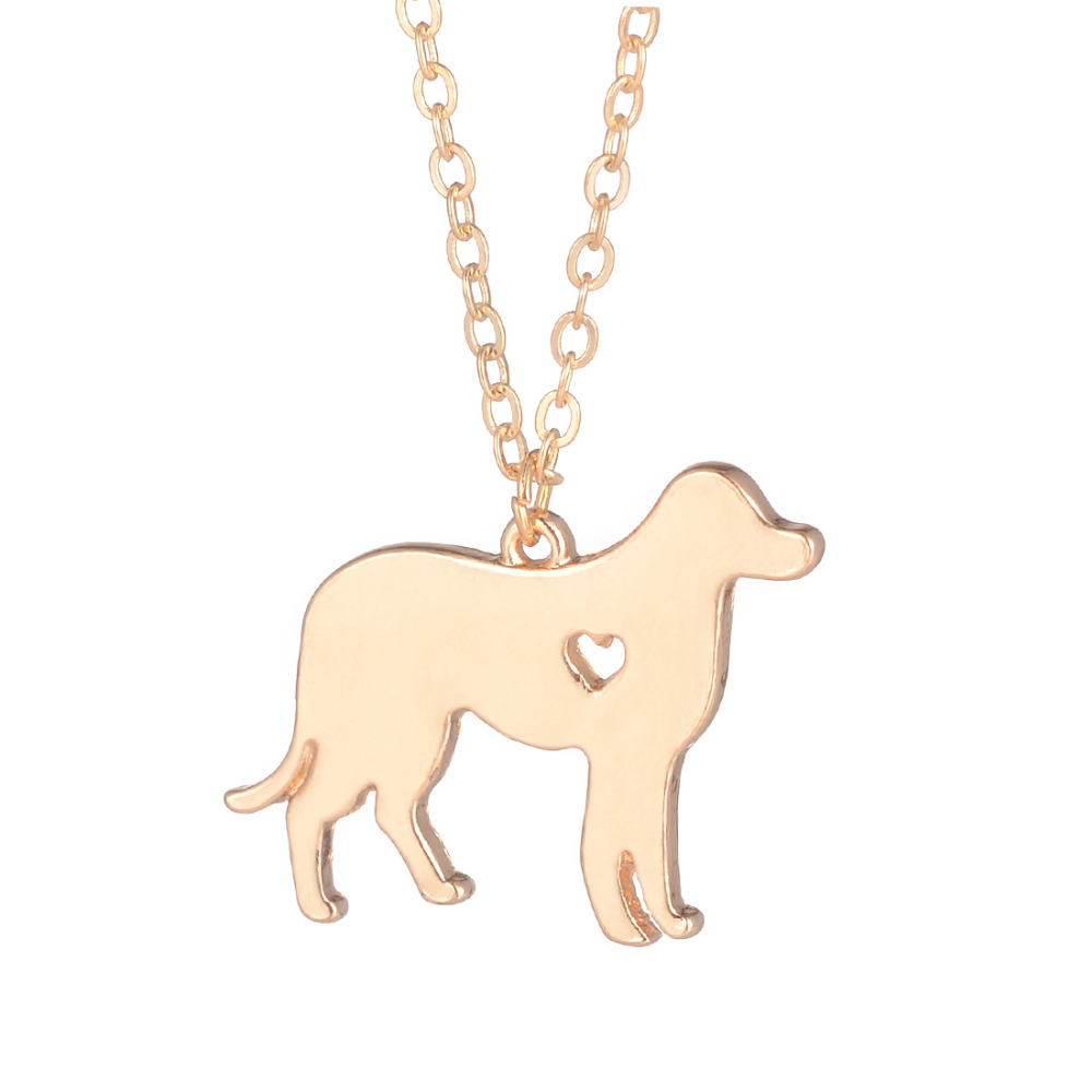 SALE Personalized Jewelry Labrador Necklace Labrador Retriever Jewelry Silver Necklace Dog Pendant Christmas Gifts for friends