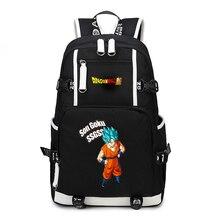 Hot Anime Dragon Ball Z Backpack Cosplay Son Goku Super Saiyan Kakarotto Schoolbag Shoulder Laptop Travel Bags New