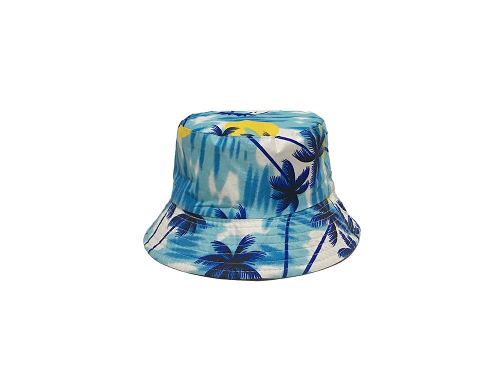 9a974c8214b MinanSer Women s Coconut Tree Printed Bucket Hats Women Reverse Harajuku  Vintage Bucket Cap Hawii Bucket -in Bucket Hats from Apparel Accessories on  ...