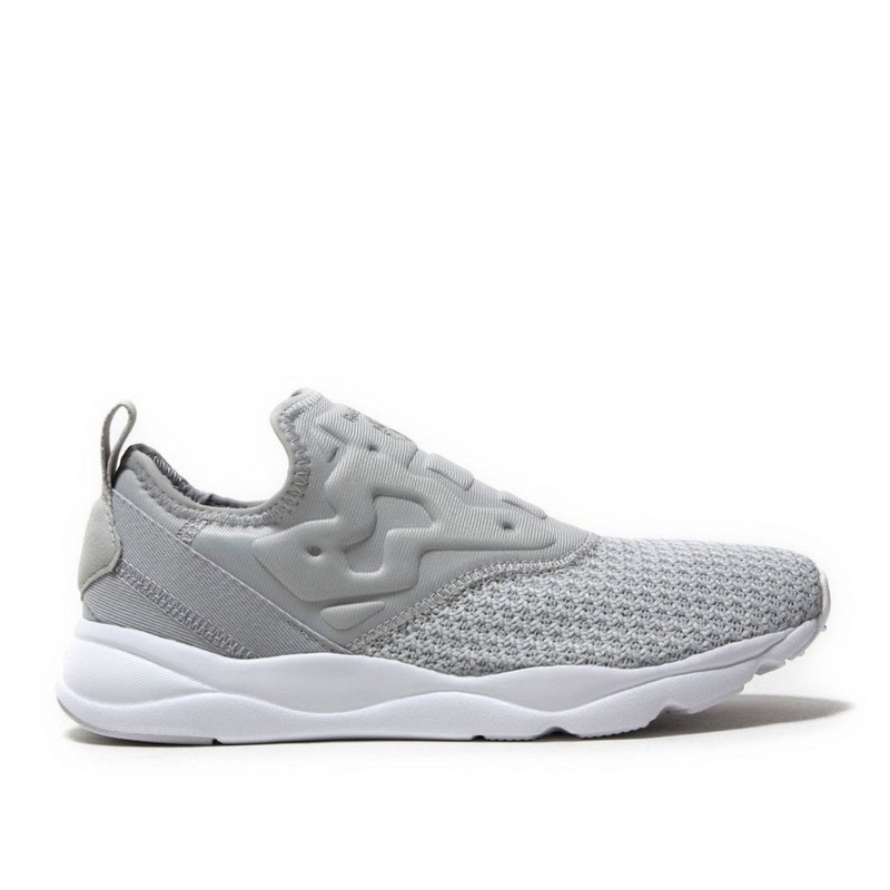 Fitness & Cross-Training Shoes REEBOK FURYLITE SLIP-ON BS5304 sneakers for female TmallFS women s flats shoes woman loafers slip on female flats moccasins ladies driving shoe students footwear plus size