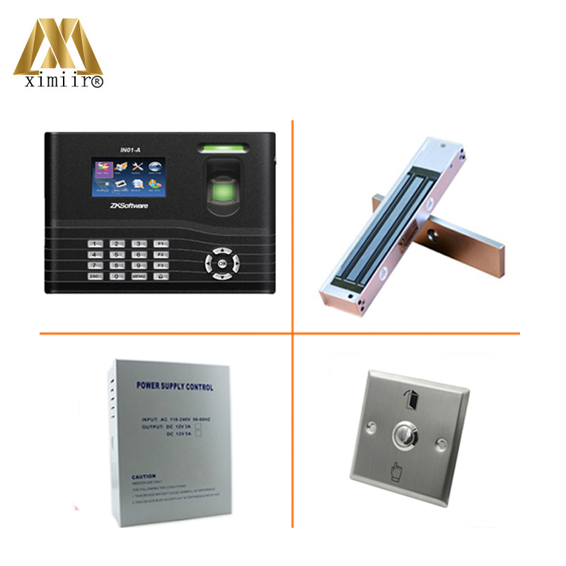 New Arrival 3000 Users Fingerprint Access Control Linux System Fingerprint RFID Card Biometric Door Access Control IN01-A Kit