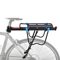MTB Bike Accessory Carrier Bicycle Racks Bike Shelf Luggage Stand Aluminum Alloy Steel Cycling Racks 50 KG Load Bearing