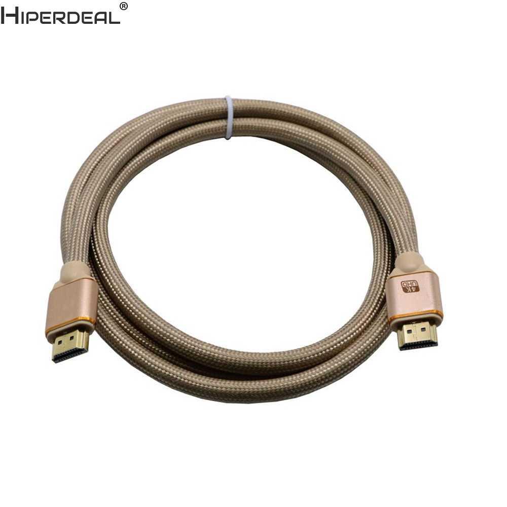 Hiperdal عالية الجودة HDMI كابل V2.0 4 k @ 60Hz ثلاثية الأبعاد 1080 P-HDTV LCD LED ل PS4 Oct27