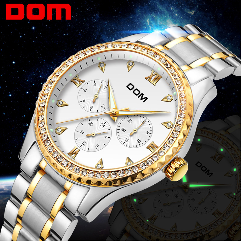 Gold Wrist Watch Men 2018 Top Brand Luxury Famous Male Clock Quartz Watches Golden Wristwatch Relogio Masculino M-39G-7M original chenxi gold watch men top brand luxury famous golden clock male wristwatch quartz wrist watches man relogio masculino