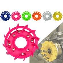 Вентиляторы охлаждения двигателя мотоцикла мотороллер турбо вентиляторы для HONDA DIOZX AF18 AF27/AF28/AF34/AF35