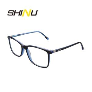 Image 5 - SHINU Marchio di Occhiali Multifocali Progressive Occhiali Da Lettura Diottrie Occhiali Da Vista Per Vicino E Lontano Distanza di Occhiali Da Vista In Acetato