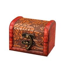 Шкатулка для украшений винтажная деревянная коробка для хранения ручной работы органайзер для украшений браслет футляр для жемчуга Подарочная коробка для хранения дропшиппинг