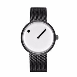 2018 Minimalist style creative wristwatches black & white new design simple stylish quartz fashion watches gift Relogio Feminino