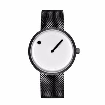 2018 minimalistyczny styl kreatywny zegarki czarny i biały nowy projekt prosty stylowy modne zegarki kwarcowe prezent Relogio Feminino tanie i dobre opinie Kwarcowe Zegarki Na Rękę Klamra ROUND 24 5cm simple 20mm 40mm JEANE CARTER Hardlex STAINLESS STEEL Nie wodoodporne JC006
