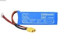 Cameron Sino 2200mAh Battery P1 12 for DJI FC40, Phantom 1, For Walkera Runner 250