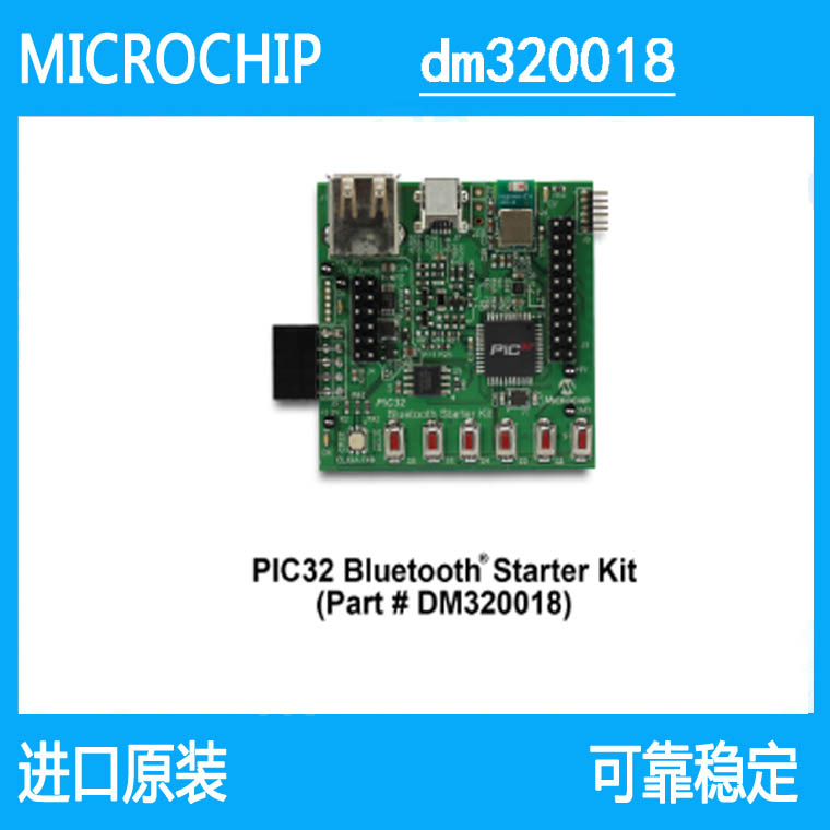 DM320018  PIC32 Bluetooth Starter Kit