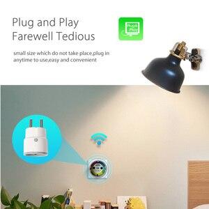 Image 4 - 16a/10a tomada inteligente, um certificado compatível com alexa, casa do google, apenas wifi 2.4g