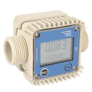 Image 4 - デジタルK24タービン流量計ディーゼル燃料流量計10 120L/最小流量計測定ツール化学物質水海ブルーホット