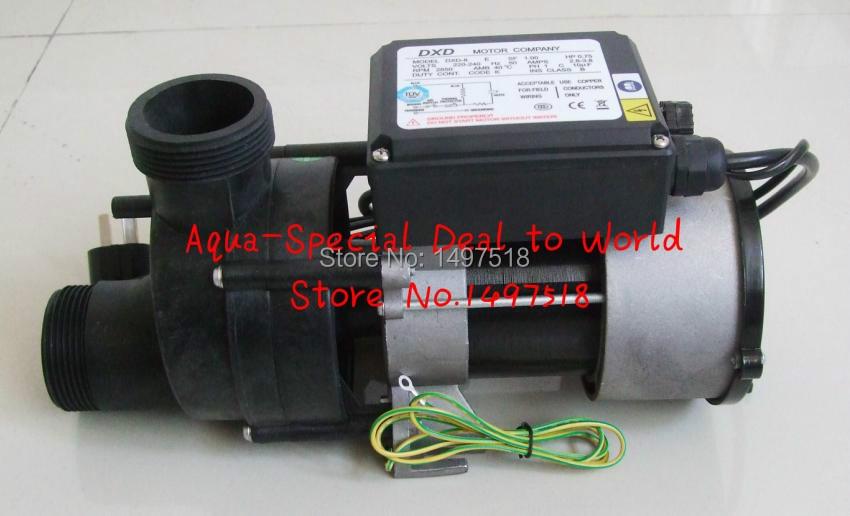 DXD-8 Ewith 0.75 kw/1.0HP pompe spa & DXD pompe de baignoire et pompe de Circulation, peut remplacer LDPB-140A