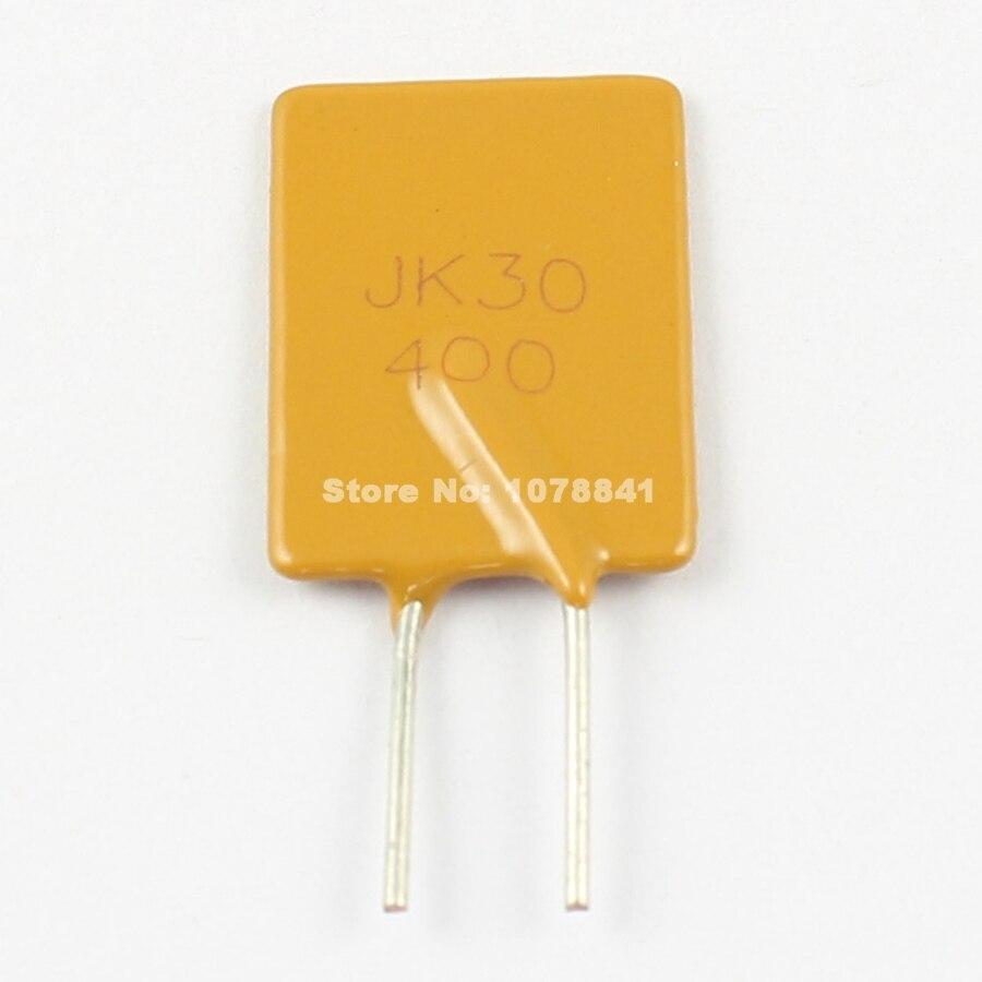 10 pièces par Lot nouveau JINKE polymère PPTC PTC DIP fusible réarmable 30V 4A JK30-400