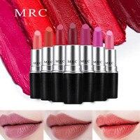 MRC контур для лица Высокая пигментная матовая губная помада 24 цвета бархат длительный Kissproof весь день губная помада Лидер продаж для девочек