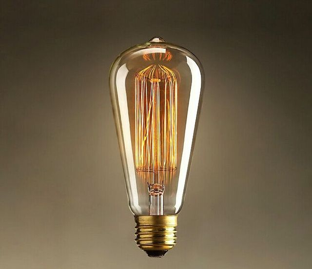 Aliexpress.com : Buy Edison light bulb Industrial Revolution retro ...