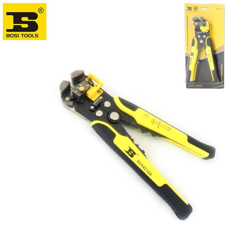 Wholesale BOSI Multi-purpose Wire Stripper Crimping Cutting Tool