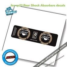 Bicycle Rear Shock Sticker fox rp23 Mountainbike Rear Shock Absorbers Stickers MTB Bike Shock Absorber Decals