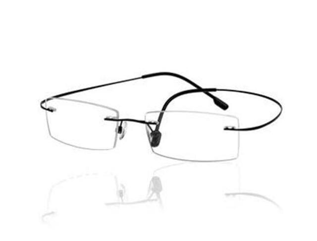 9 цветов оправы без винтов памяти титановые гибкие очки полные рецепт очки с 1.61 HMC асферические CR-39 линзы
