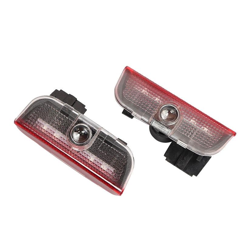2X 3D luces LED para puertas logotipo Bienvenido luz de baja reflexión para VW Golf 5 5 5 6 6 7 Jetta MK5 MK6 MK7 Passat B6 B7 CC EOS Touareg
