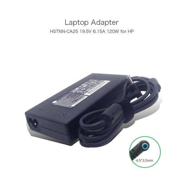 19.5V 6.15A 120W 4.5*3.0mm Laptop AC Charger for HP Envy A120A07DH 732811-002 710415-001 PA-1121-62HA HSTNN-CA25 Power Supply