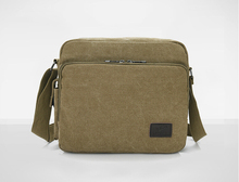 Men's leisure small inclined shoulder bag Han edition men's single canvas shoulder bag the lowest price    LJ-029