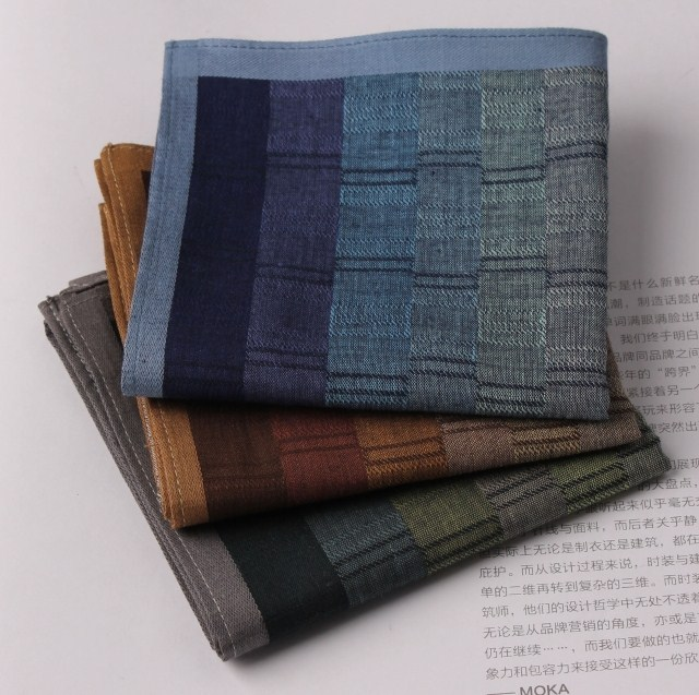 Male handkerchief 100% cotton handkerchief 100% cotton handkerchief