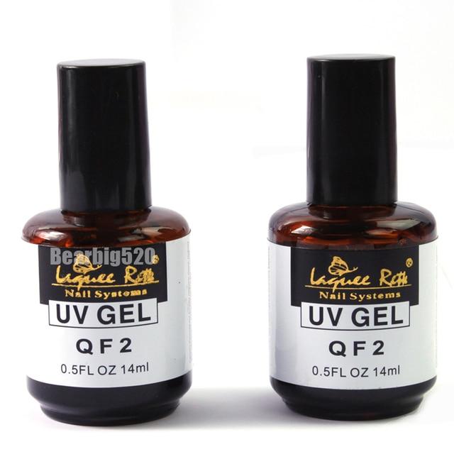 2PCS 14ml primer base gel + top coat long lasting nail gel for nail ...